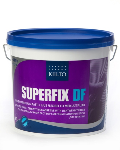 Plaadisegu Kiilto Superfix DF 4kg