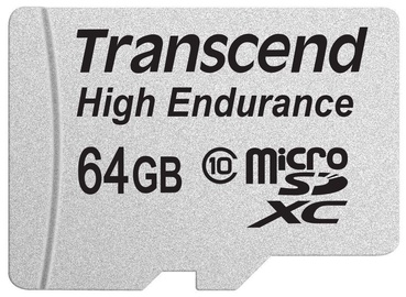 Transcend 64GB Micro SDXC High Endurance w/ Adapter