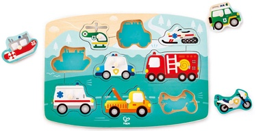 Hape Emergency Peg Puzzle E1406A