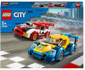 Конструктор LEGO City Гоночные автомобили 60256, 190 шт.