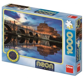 Dino Neon Puzzle Angel Castle 1000pcs