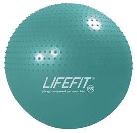 Masažinis gimnastikos kamuolys LIFEFIT, 55 cm, turkio