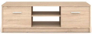 TV galds Black Red White Nepo Plus Sonoma Oak, 1385x465x425 mm