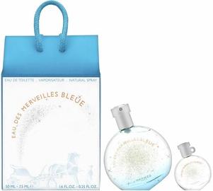 Набор для женщин Hermes Eau des Merveilles Bleue