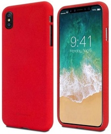 Mercury Soft feeling Matte Back Case For Apple iPhone 11 Pro Max Red