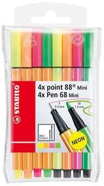 Stabilo Mini Neon Set 8pcs
