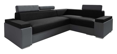 Idzczak Meble Chester Mini Corner Sofa Right Black/Grey
