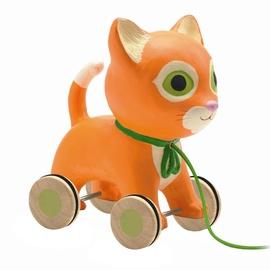 Djeco Pull Along Toys Mila Cat