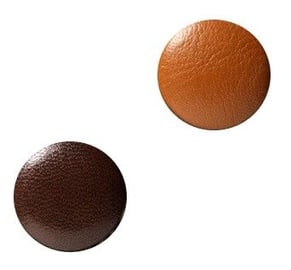Naga Glassboard Magnets Round Brown 2pcs