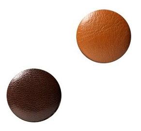 Naga Glassboard Magnets Round Brown 2psc