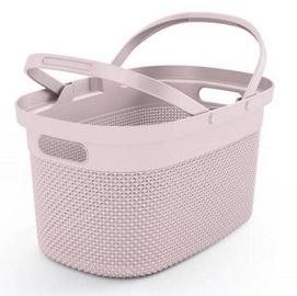 KIS Filo Shopping Basket 45.5x30x24cm Pink