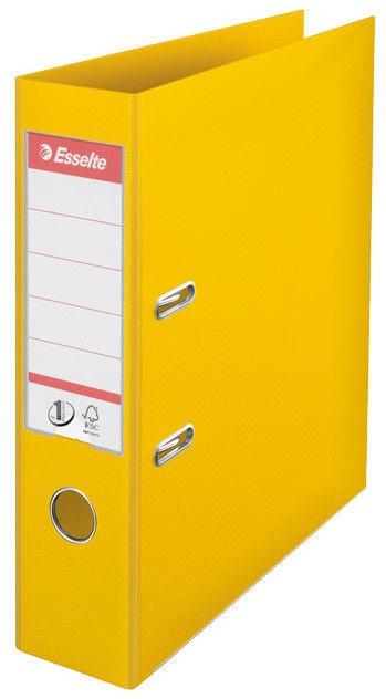 Esselte Folder No1 Power 7.5cm Yellow