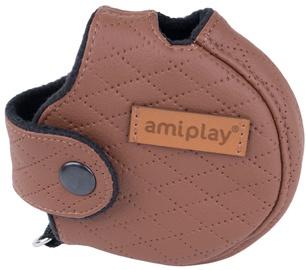 Amiplay Cambridge Infini Retractable Leash Cover L Brown