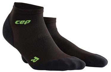 CEP Women's Ultralight Low-Cut Socks Black/Green 3