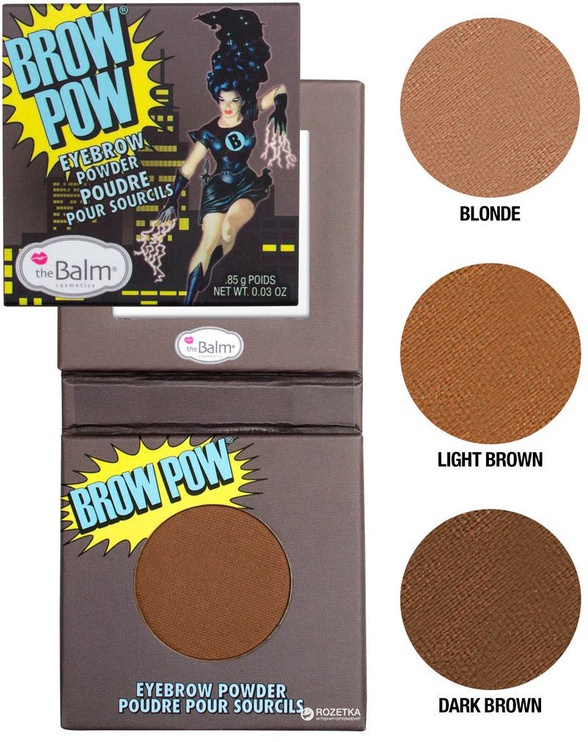 TheBalm Brow Pow Eyebrow Powder 0.85g Light Brown