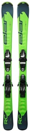 Elan Skis Alpine Skis RC Race QS EL 7.5 GW Green 140cm