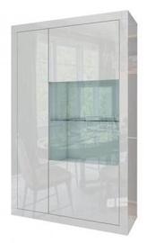 Tuckano Sparkle Showcase 980x1600x410mm White