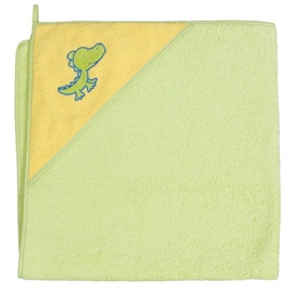 Ceba Baby Bath Towel Crocodile Green