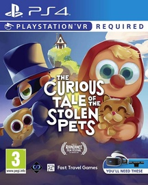 Игра для PlayStation 4 (PS4) Curious Tale of the Stolen Pets VR PS4