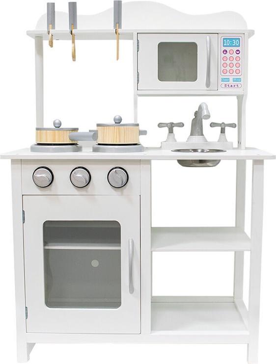 4IQ Kotryna Wooden Kitchen White