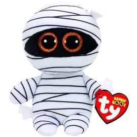 Pliušinis žaislas TY Beanie Boos TY37234, baltas/juodas