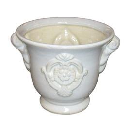 SN Ceramic Pot IP11-1837 White