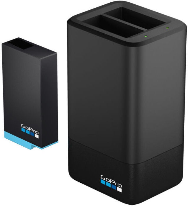 GoPro Dual Battery Charger + Battery for MAX