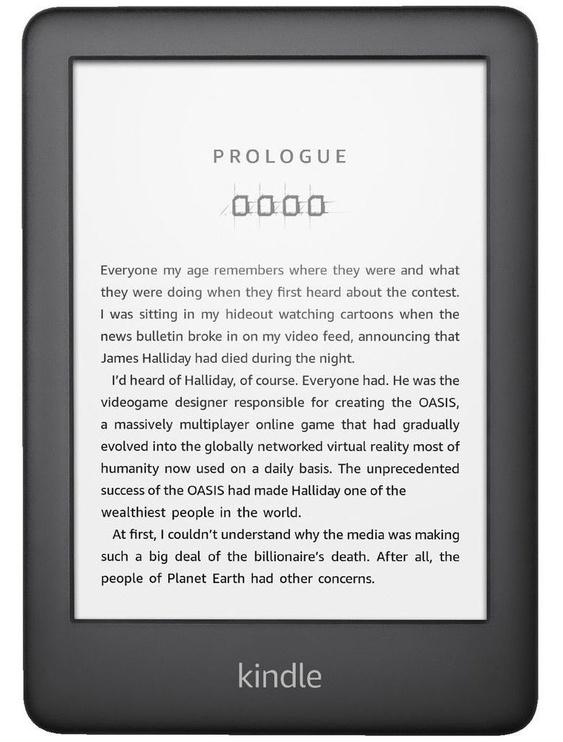 Elektroninė knygų skaityklė Amazon Kindle 10 Black, 4 GB