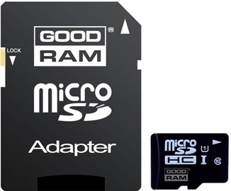 Goodram 16GB Micro SDHC UHS-I Class 10 + Adapter