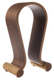 Maclean Wood Headphone Stand Nut Color