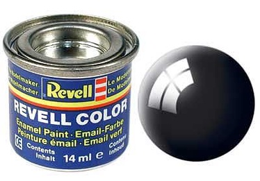 Revell Email Color 14ml Gloss RAL 9005 Black 32107
