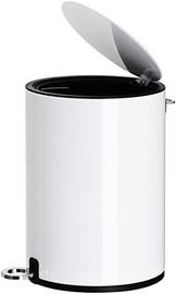 Мусорное ведро Songmics Garbage 73239900, белый, 3 л