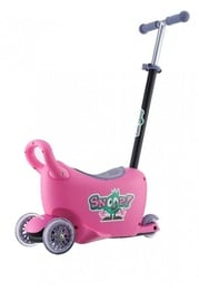 Milly Mally Snoop Multifunctional Ride On 3in1 Pink