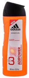 Dušas želeja Adidas Adipower Shower Gel, 400 ml