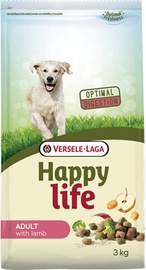 Versele-Laga Happy Life Adult Dog Dry Food With Lamb 3kg