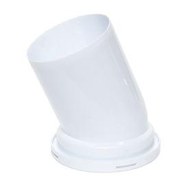 Unitazo alkūnė Ani Plast W2220, 22,5°, Ø 110/141 mm, balta