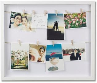 Umbra Clothes Line Photo Frame White