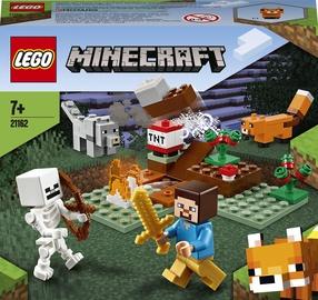 Конструктор LEGO Minecraft Приключения в тайге 21162, 74 шт.