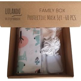 Lulando Family Box Sewing Kit Protective Mask Set 60pcs