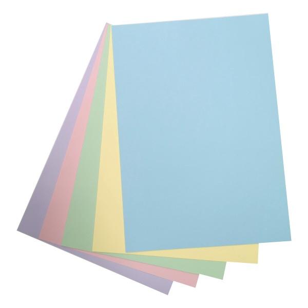 Värviline paber Topelt 80G A4 / 100 lehte, pastellvärv