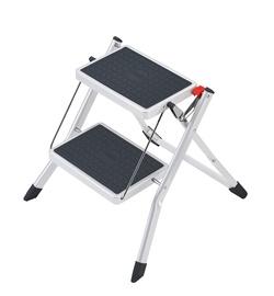 Plieninės sulankstomos kopėtėlės Hailo Mini 4310-001, 2 pak