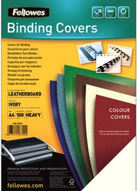 Fellowes Delta A4 FSC Binding Cover Leather Ivory