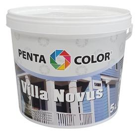 Krāsa fasādēm Pentacolor Villa Novus, 5 l, pelēka