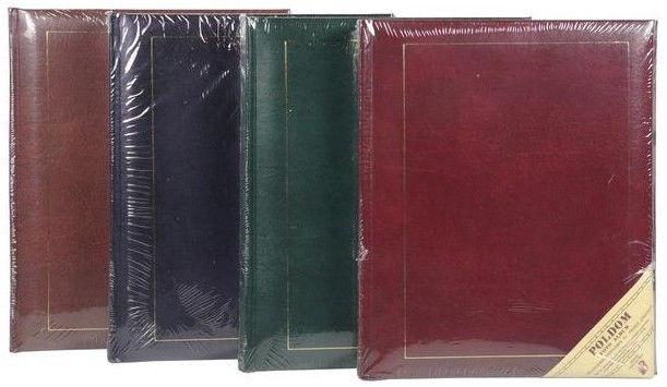 Альбом для фотографий Poldom Album B 40 PG Classic 4 Black Pages
