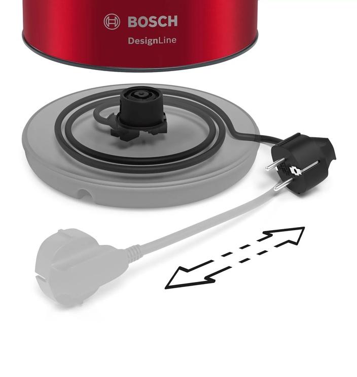 Электрический чайник Bosch TWK3P424 Red
