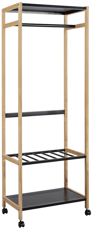 Home4you Clothes Hanger Forest Natural/Black 13963