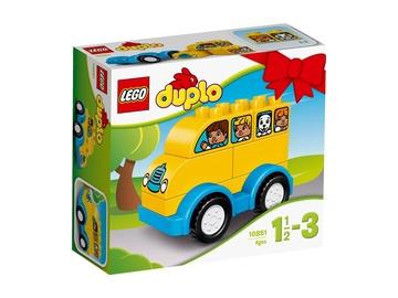Konstruktorius LEGO Duplo,  Mano pirmasis autobusas 10851