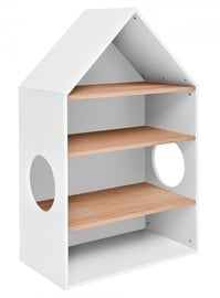 Bellamy Nomi Shelf White/Oak