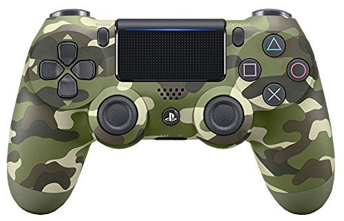 50ee48f7a3b Sony PS4 DualShock 4 Controller Green Camouflage