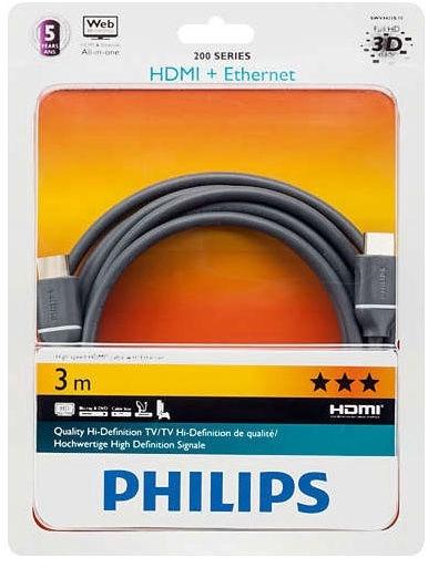 Kaabel hdmi 3m Philips SWV4433S/10